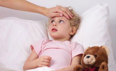Ребенок после солнечного удара