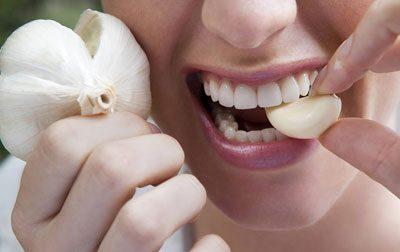Зубчик чеснока
