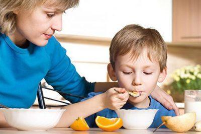 Питание для больного малыша