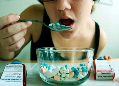 Большие дозы препаратов