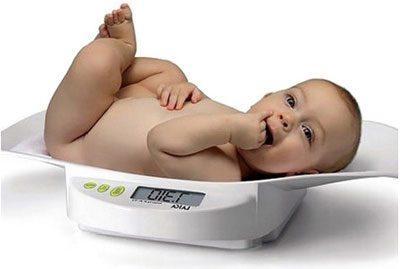 Определение веса ребенка