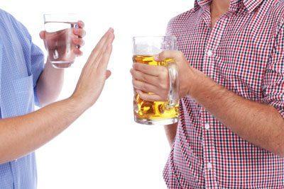 Отказ от выпивки