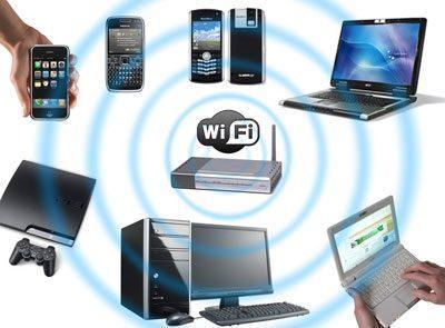 Приборы с wifi