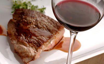 Алкоголь и мясо