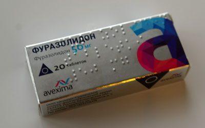 Препарат фуразолидон